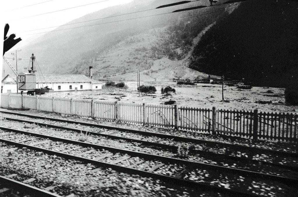 Salbertrand, alluvione del 1957